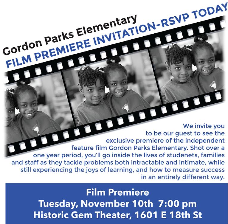 Gordon Parks Elementary: A FilmPremiere